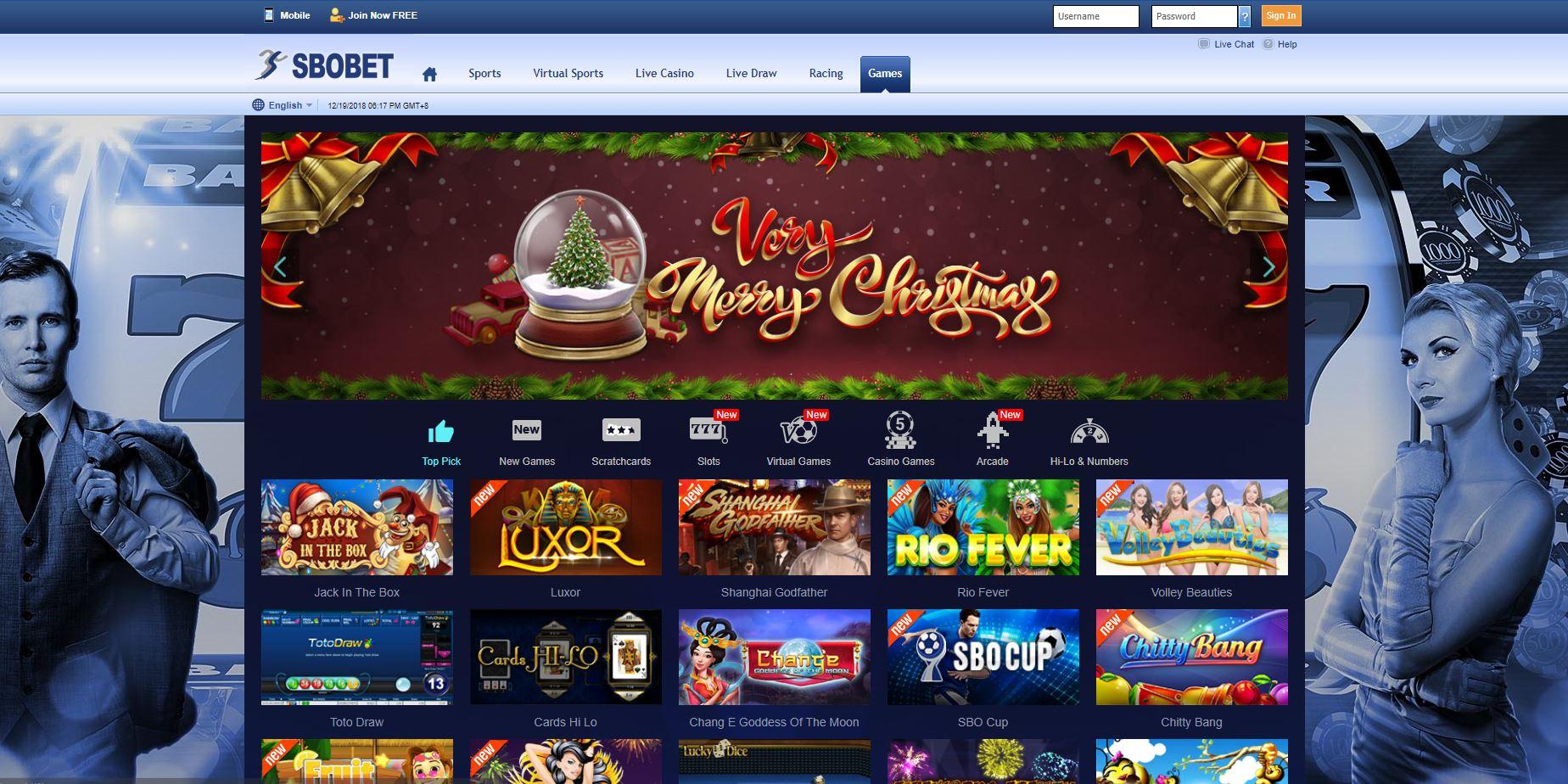 games slot sbobet online