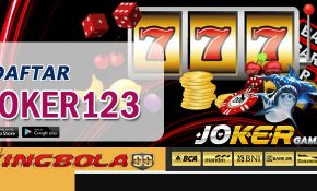 Daftar game slot joker123